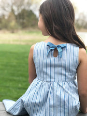 Fit and Flare Dress with Pockets - Hope & Henry Girl