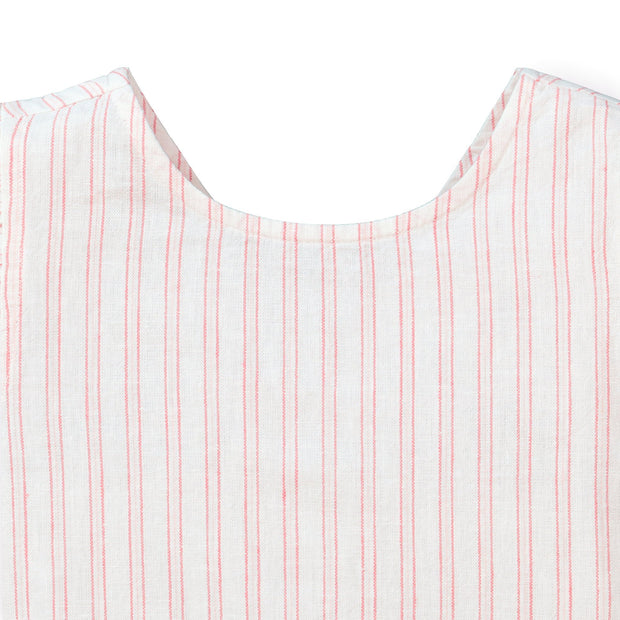 Flutter Sleeve Button Back Top - Hope & Henry Girl