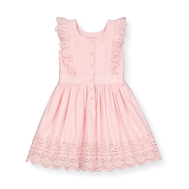 Flutter Sleeve Flower Girl Dress - Hope & Henry Girl
