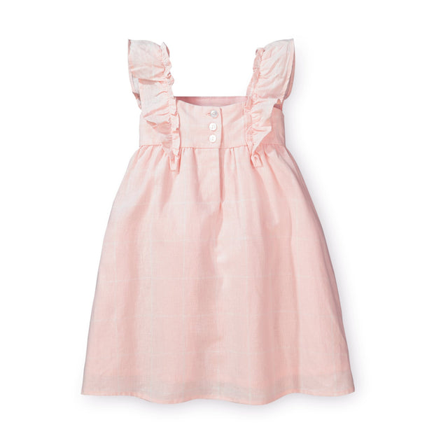 Flutter Sleeve Sun Dress - Hope & Henry Girl