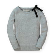 French Sweater with Velvet Bow - Hope & Henry