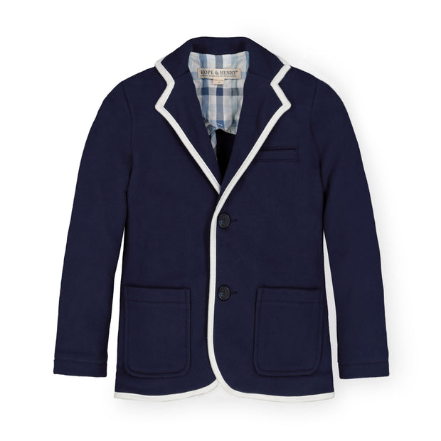 French Terry Blazer - Hope & Henry