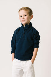 French Terry Half-Zip Pullover - Hope & Henry Boy