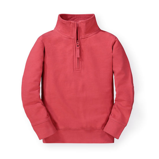 French Terry Half-Zip Pullover - Hope & Henry