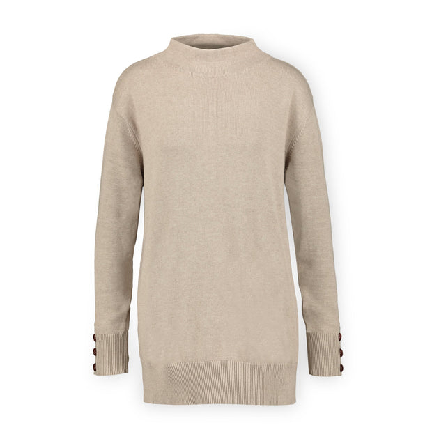 Funnel Neck Tunic Sweater - Hope & Henry