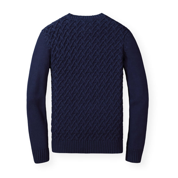 Herringbone Cable Sweater - Hope & Henry