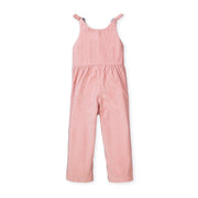 Knot Tie Button Front Jumpsuit - Hope & Henry Girl