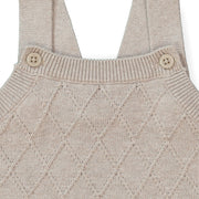 Lattice Sweater Jumpsuit - Hope & Henry Baby