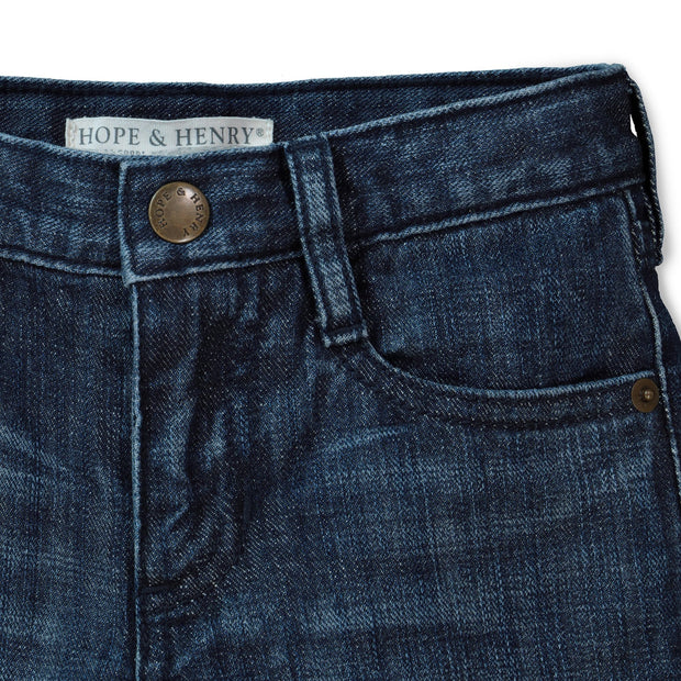 Lined Medium Wash Denim - Hope & Henry Boy