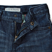 Lined Medium Wash Denim - Hope & Henry