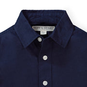 Linen Classic Button Down Shirt - Hope & Henry Boy