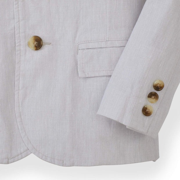Linen Suit Jacket - Hope & Henry Boy