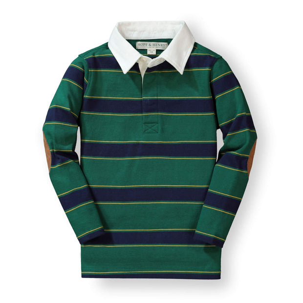 Long Sleeve Rugby Shirt - Hope & Henry