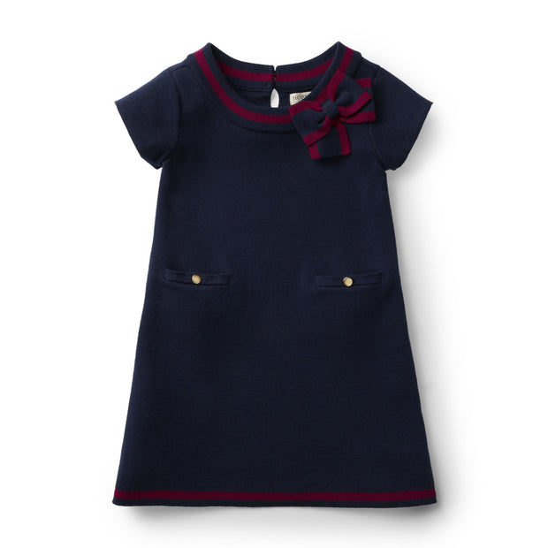 Milano Tipped Sweater Dress - Hope & Henry Girl