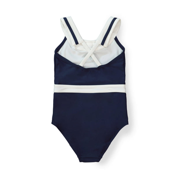 One-Piece Sailor Swimsuit - Hope & Henry Girl