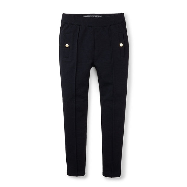Pintuck Ponte Pant - Hope & Henry Girl