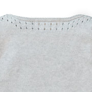Pointelle Detail Sweater - Hope & Henry Girl