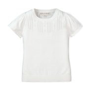Pointelle Sweater Top - Hope & Henry Girl