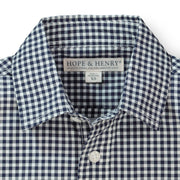 Poplin Short Sleeve Button Down Shirt - Hope & Henry