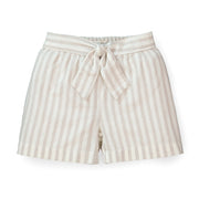 Pull-On Tie Front Short - Hope & Henry Girl