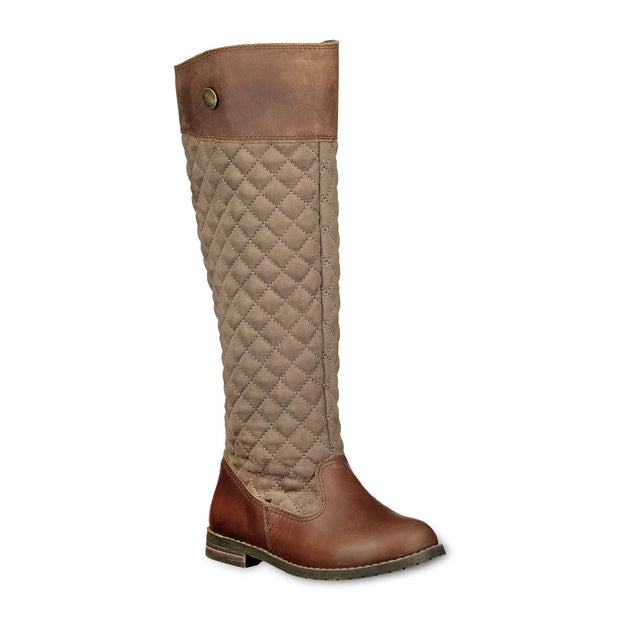 Quilted Leather Riding Boot-Shoes-Hope & Henry