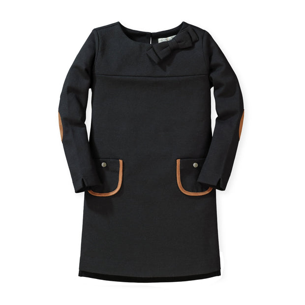 Quilted Ponte Riding Dress - Hope & Henry Girl