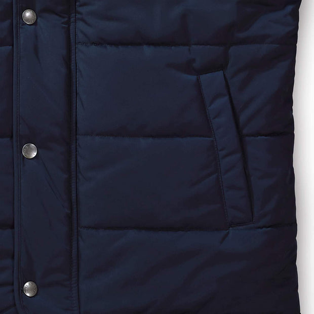 Quilted Puffer Vest - Hope & Henry