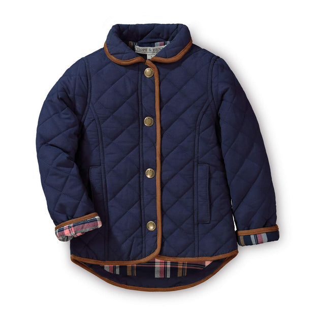 Quilted Riding Coat - Hope & Henry Girl