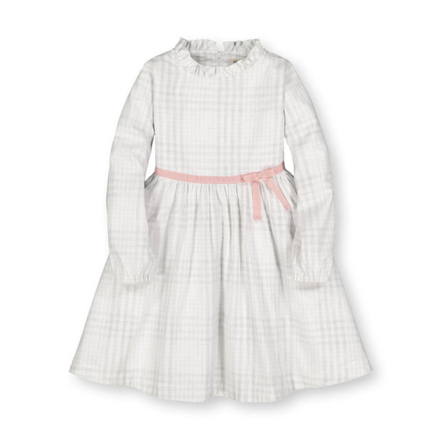 Ruffle Neck Empire Waist Dress - Hope & Henry Girl