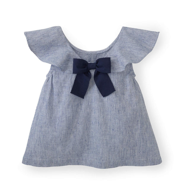Ruffle Top with Bow - Hope & Henry