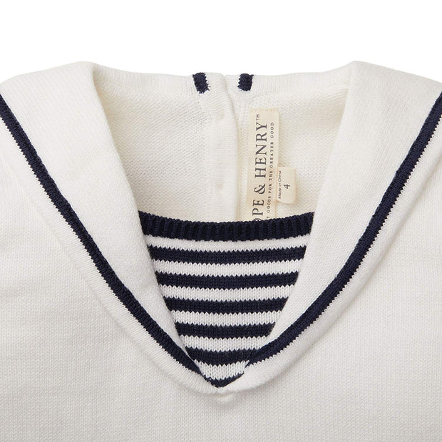 Sailor Sweater Top - Hope & Henry Girl