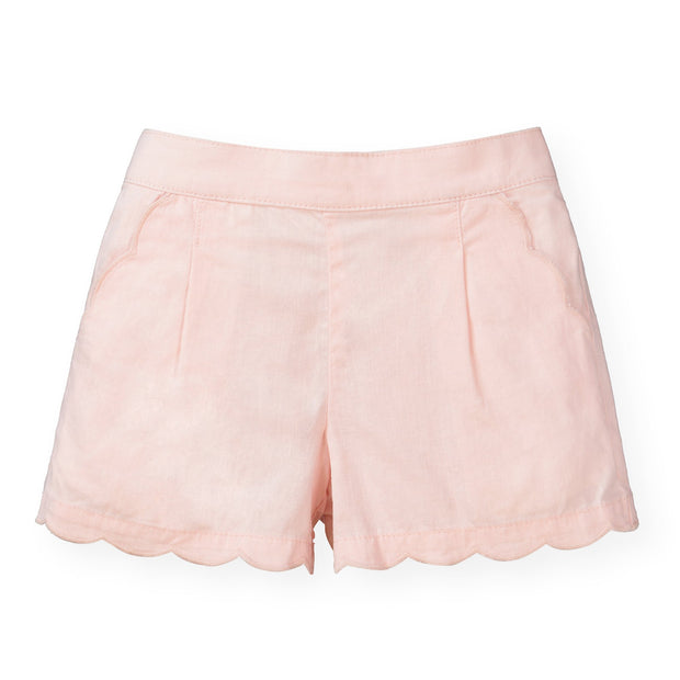 Scallop Edge Short - Hope & Henry Girl