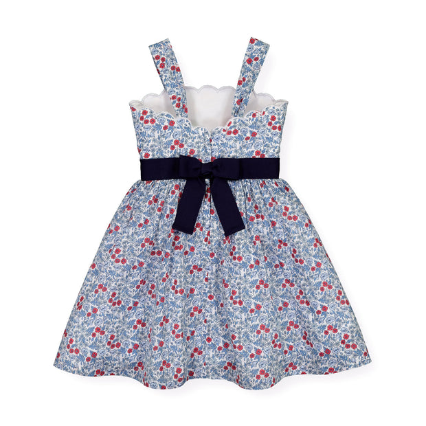Scallop Edge Summer Dress - Hope & Henry Girl