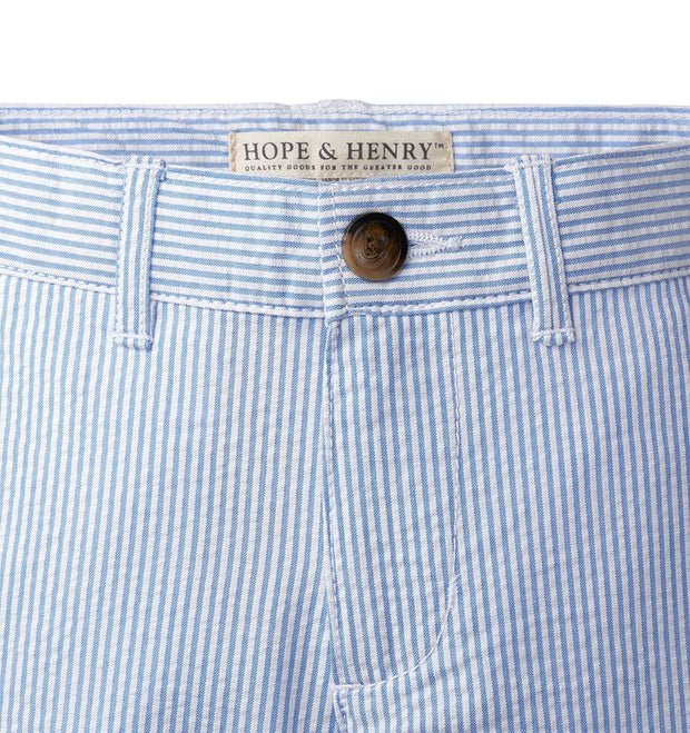 Seersucker Suit Pant - Hope & Henry Boy
