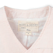 Seersucker Suit Vest - Hope & Henry