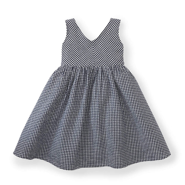 Seersucker Swing Dress - Hope & Henry Girl