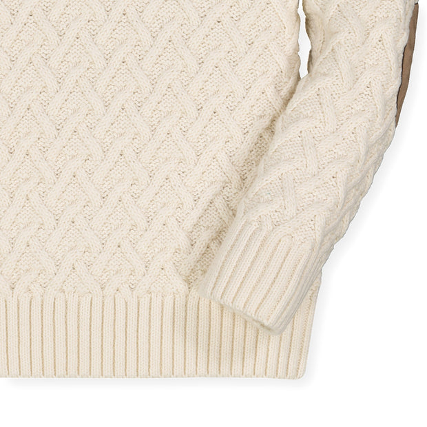 Shawl Collar Cable Sweater-Sweaters-Hope & Henry