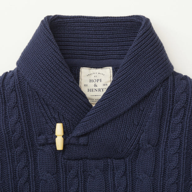 Shawl Collar Sweater - Hope & Henry