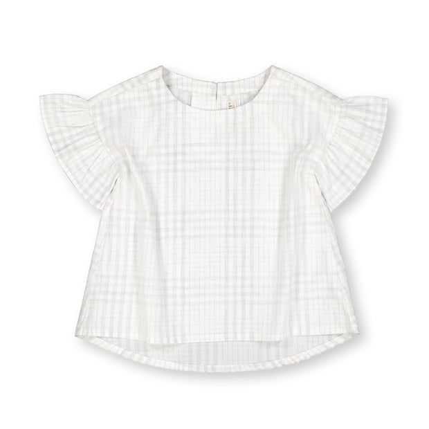 Short Ruffle Sleeve Top - Hope & Henry Girl