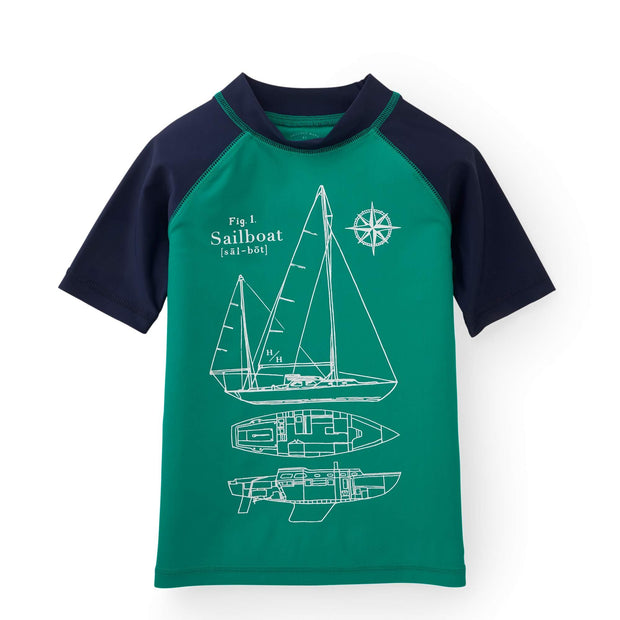 Short Sleeve Rash Guard - Hope & Henry