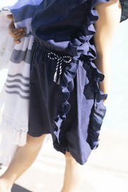 Side Ruffle Swim Cover-Up - Hope & Henry