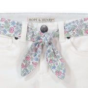 Skinny Stretch Denim with Fabric Belt - Hope & Henry