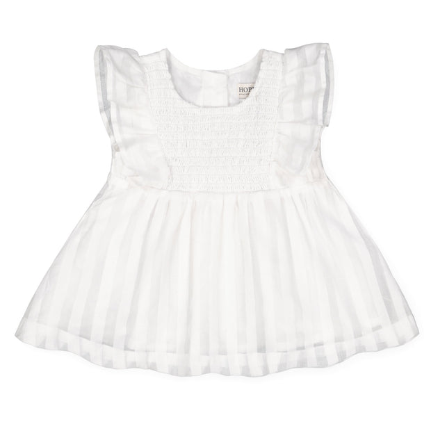 Smocked Swing Top and Ruffle Bloomer Set - Hope & Henry Baby
