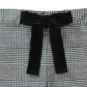 Straight Dressy Pant with Bow - Hope & Henry