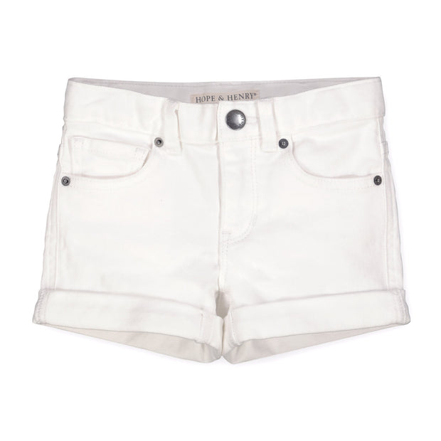 Stretch Denim Short - Hope & Henry Girl