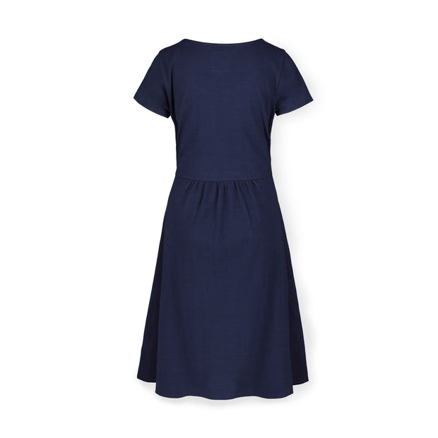 Tie-Waist Knit Dress - Hope & Henry Women