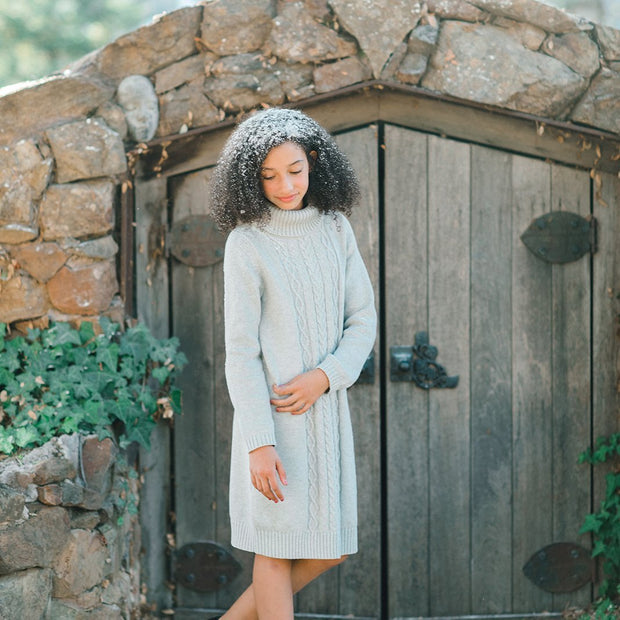 Turtleneck Sweater Dress - Hope & Henry Girl