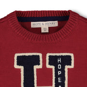 Varsity Pullover Sweater-Sweaters-Hope & Henry