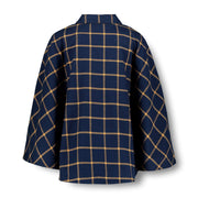 Woven Cape with Button Front - Hope & Henry