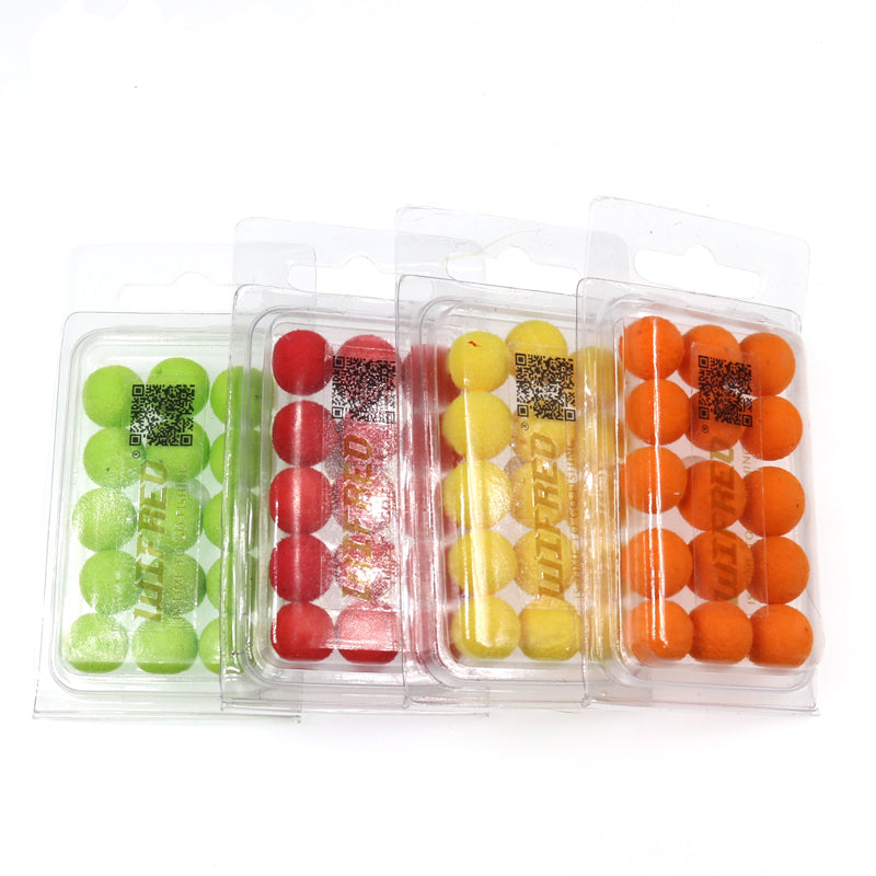 15PCS/30PCS 12mm Carp Fishing Pop Ups Boilies Baits